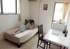 104号室☆家具は一式揃っていてゆったりとできるお部屋♪