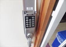 ナンバーキーなので鍵紛失の心配はありません!