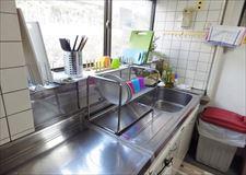 キッチン用品も一通り揃えています。