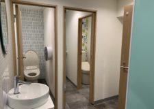改装したてのトイレです。