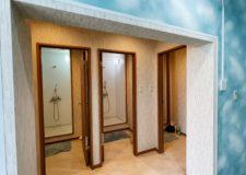 男性用シャワー室もすっかり気分爽快に生まれ変わりました