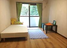 全室6畳です。お部屋によって備品が異なります。
