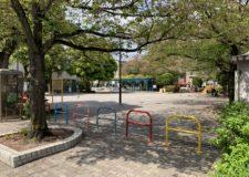 物件から徒歩1分の公園は桜がいっぱいです。