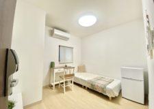 102号室は5畳ですが1人暮らしには十分の広さ!
