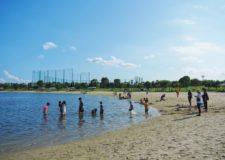 大森ふるさとの浜辺公園です!浜辺で遊べるのも素敵ですよね*