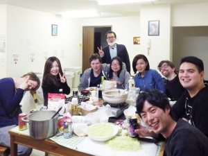 ☆家族のようなシェア生活の中でパーティを開催☆