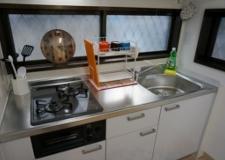 調理スペースもしっかり確保!