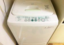 洗濯機付いてます!