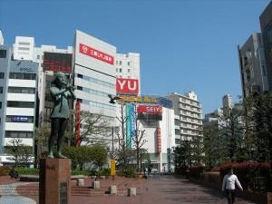 西友・駅前広場_R