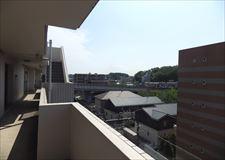 建物上階通路からの景観