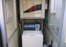 コイン式の洗濯機・乾燥機